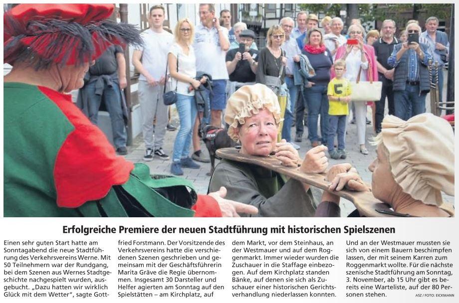 Westfälischer Anzeiger Ausgabe Werne 24.09.2019